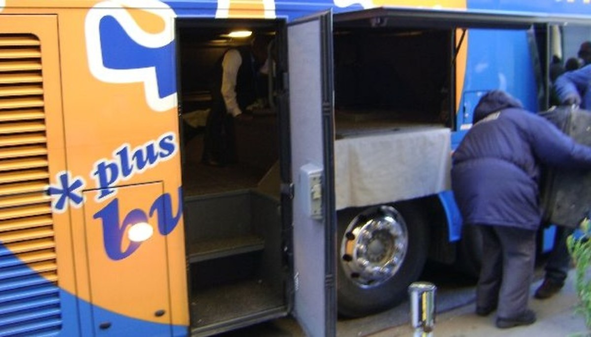 You are allowed on carry on bag and one checked bag with each Megabus ticket. Your checked bag will travel in the luggage compartment under the bus.