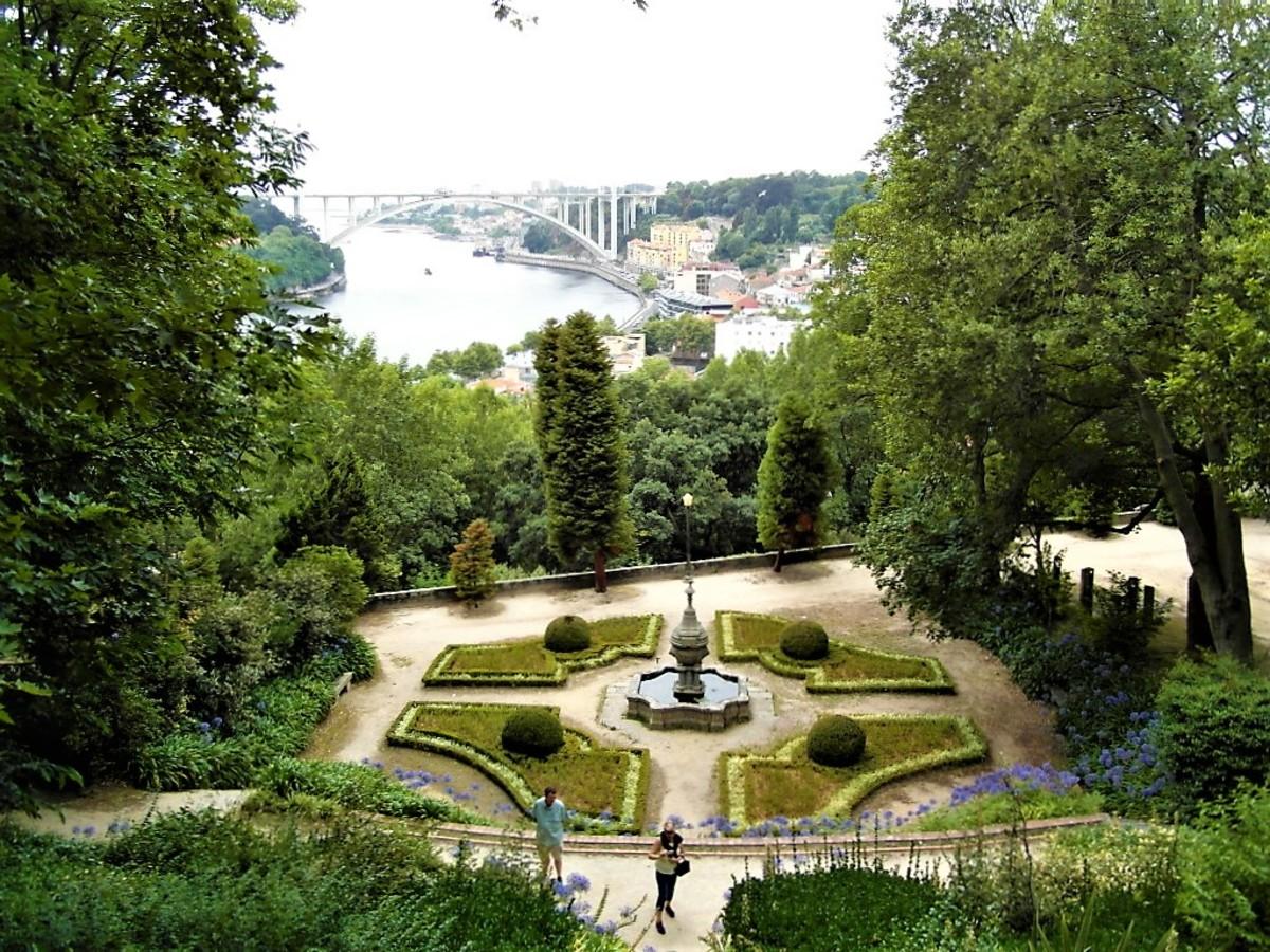 Jardim do Palacio de Cristal.