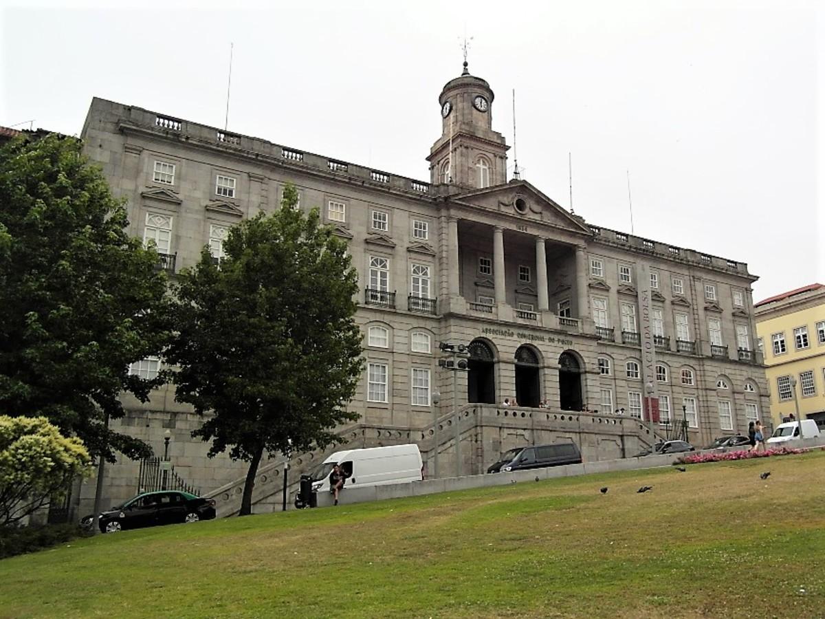 Palacio da Bolsa.