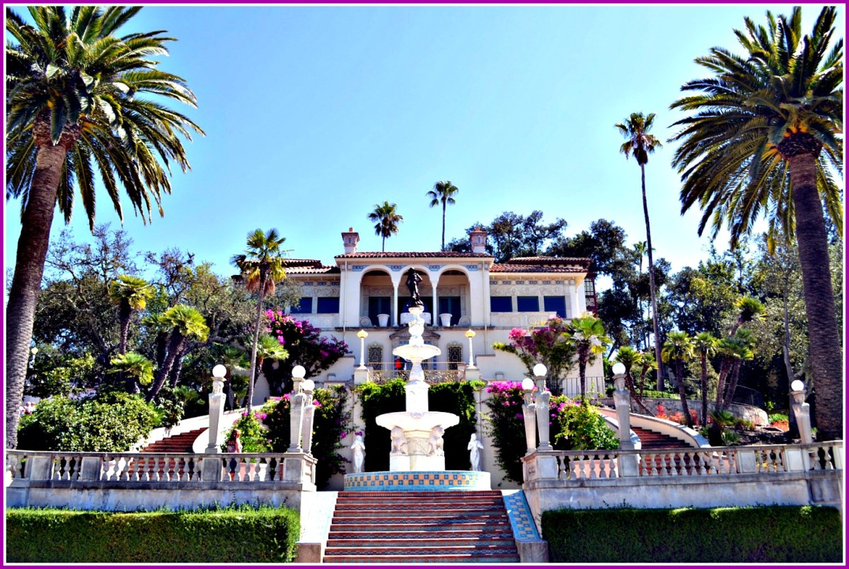 Hearst Castle is loaded with Hollywood history..