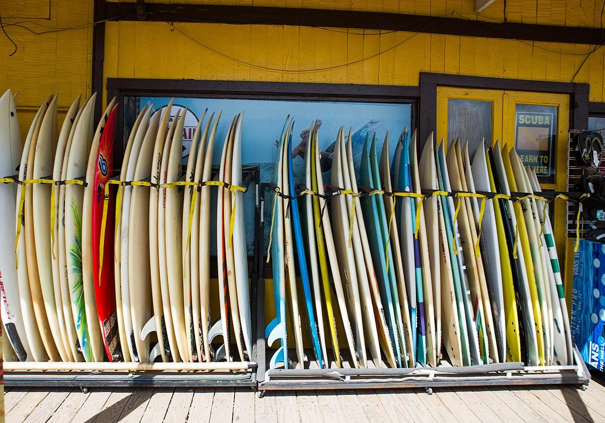 Hale'iwa surf shop.