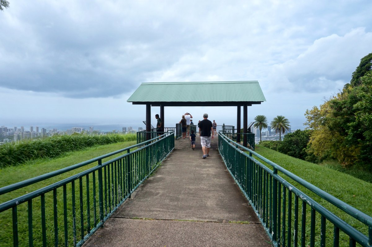 The Tantalus Lookout is the perfect spot for those who love beautiful panoramic views but hiking is not their thing.