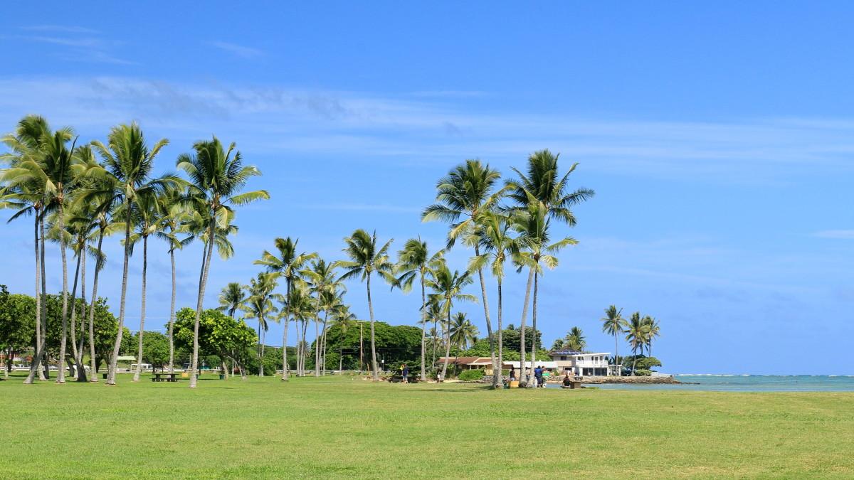 Kualoa Beach Park, Kaneohe