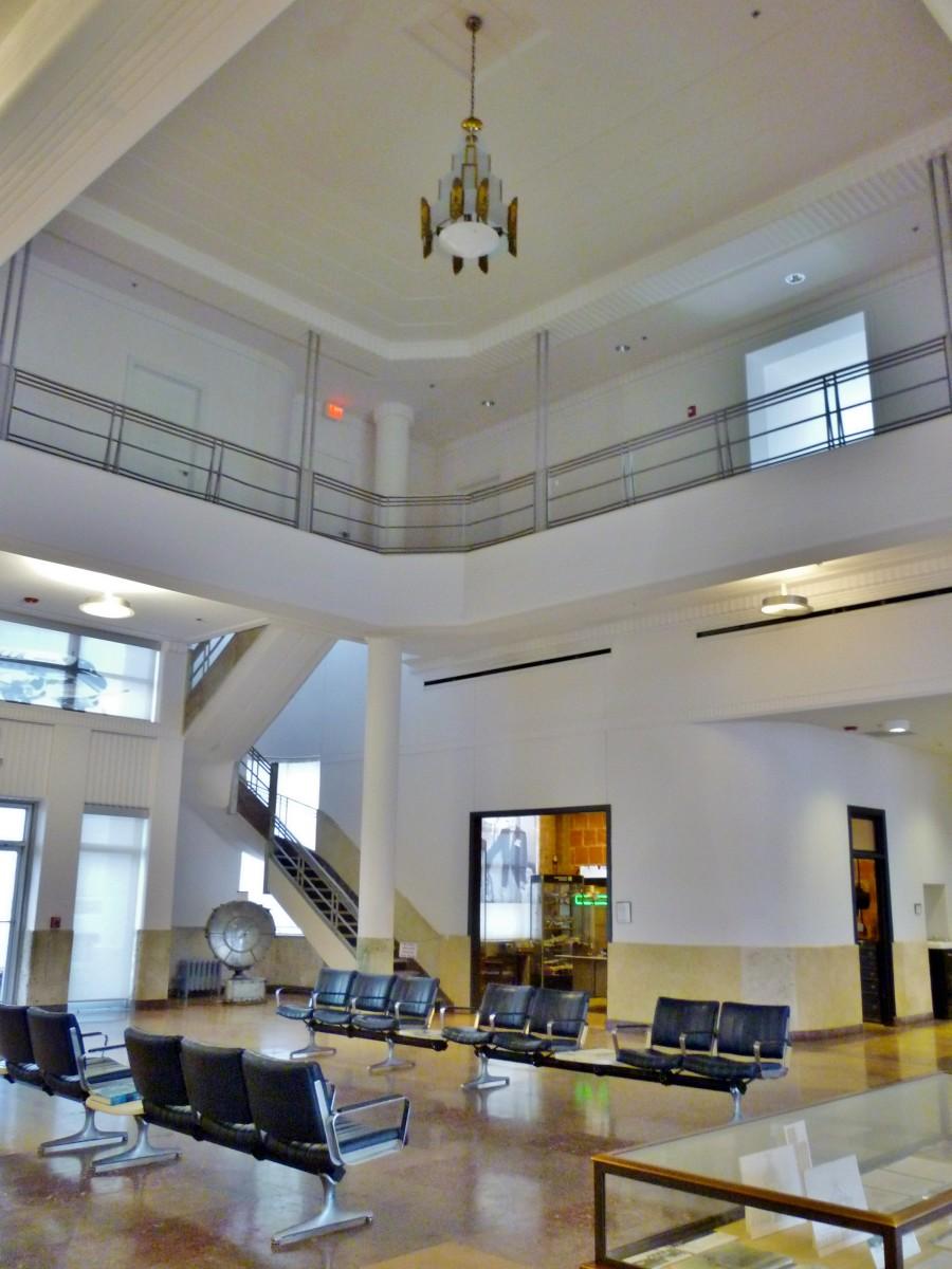 1940 Air Terminal Museum Lobby