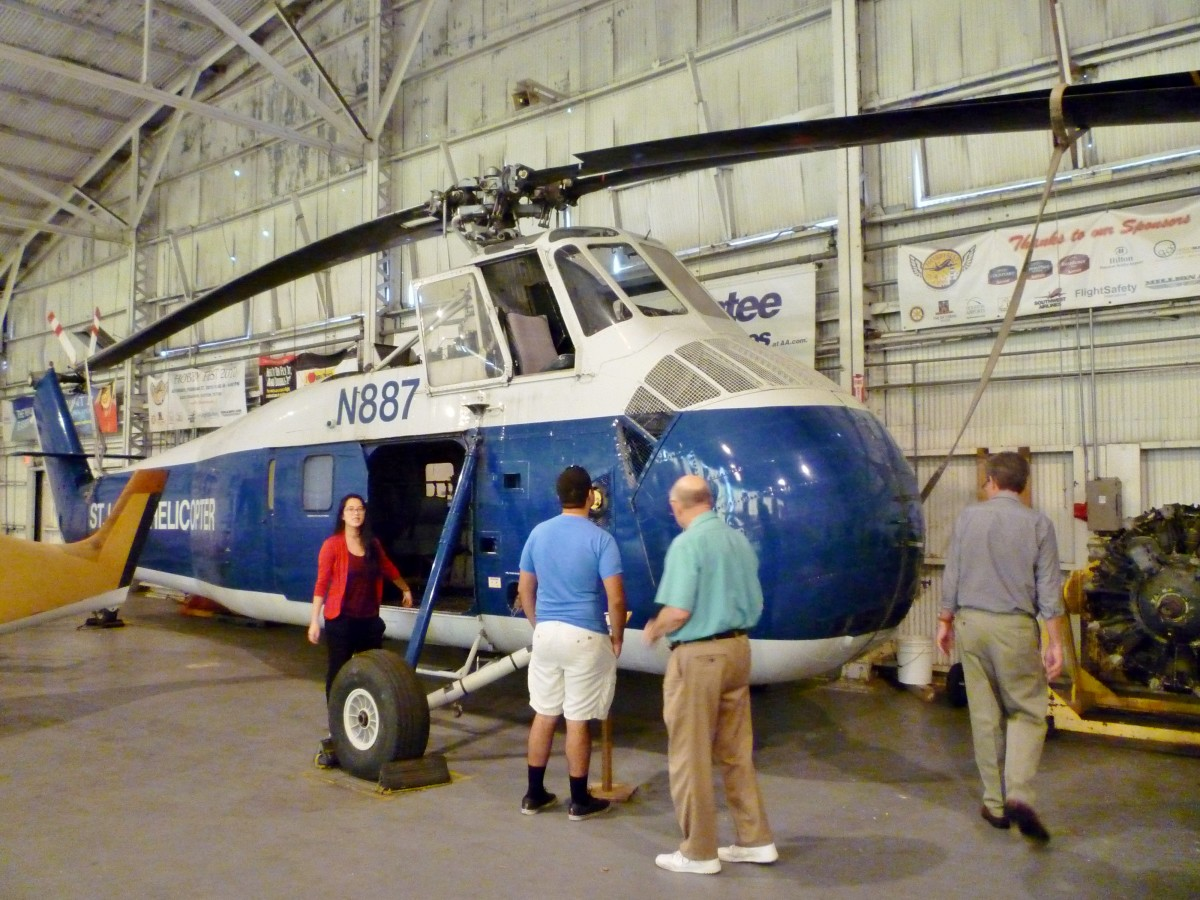 1958 Silorsky S-58 N887 St. Louis Helicopter at 1940 Air Terminal Museum Hangar