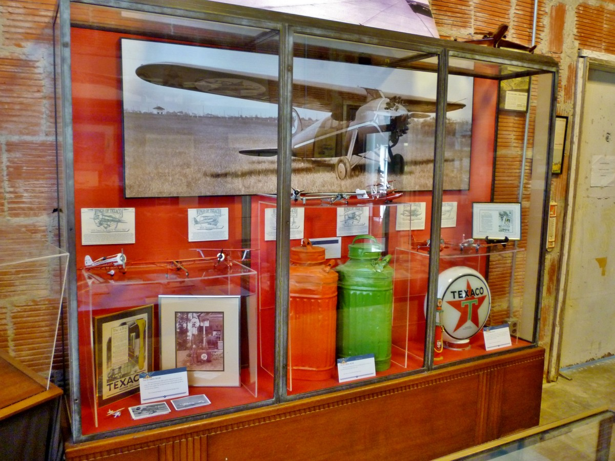 1940 Air Terminal Museum Display Case