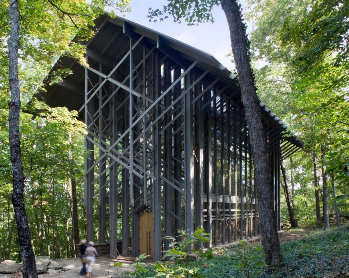 Another View of the Glass Chapel