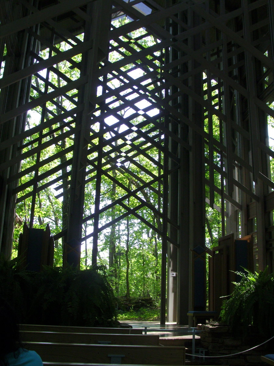 Shadowed View of Interior at Midday