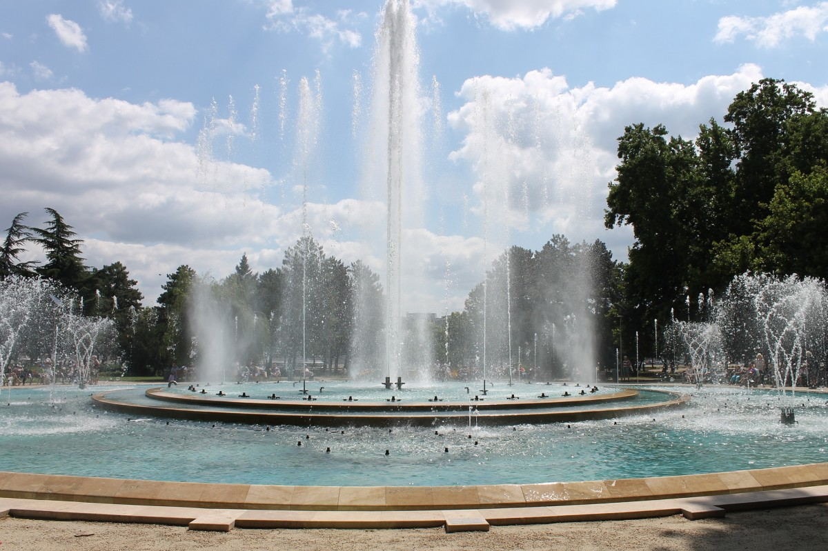 The Fountain on Margaret Island