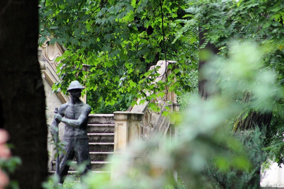 Epreskert Garden in Budapest