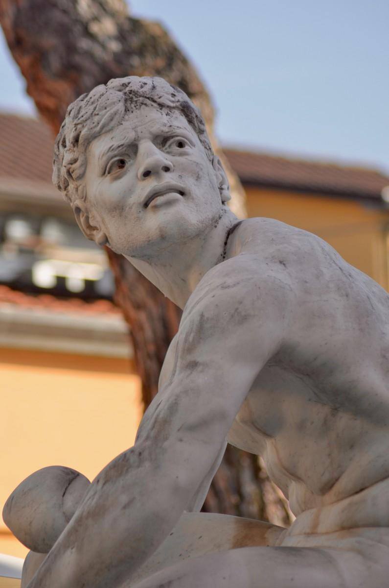 One of the many faces in Pietrasanta (c) A. Harrison