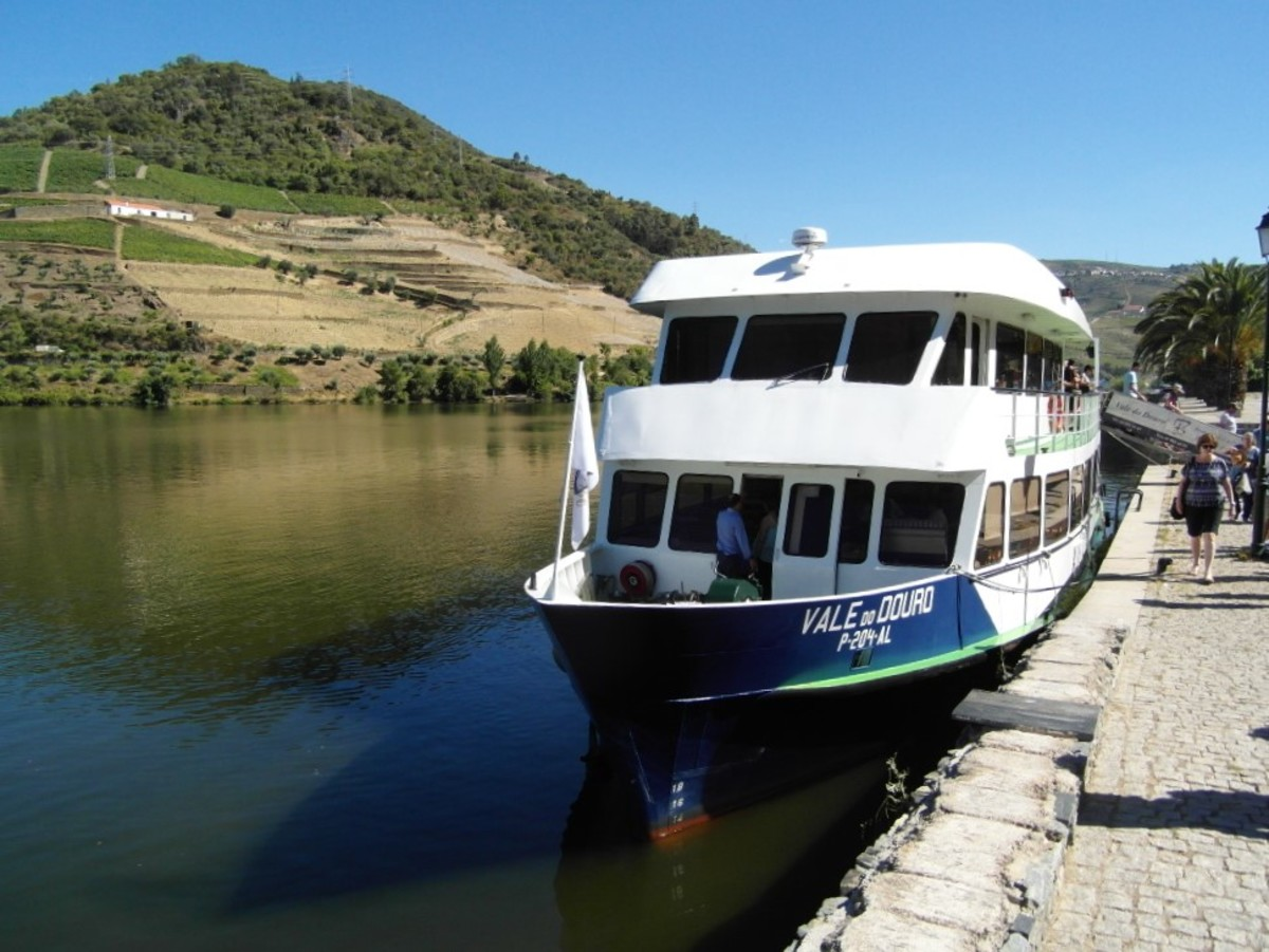 Our boat, Vale do Douro.
