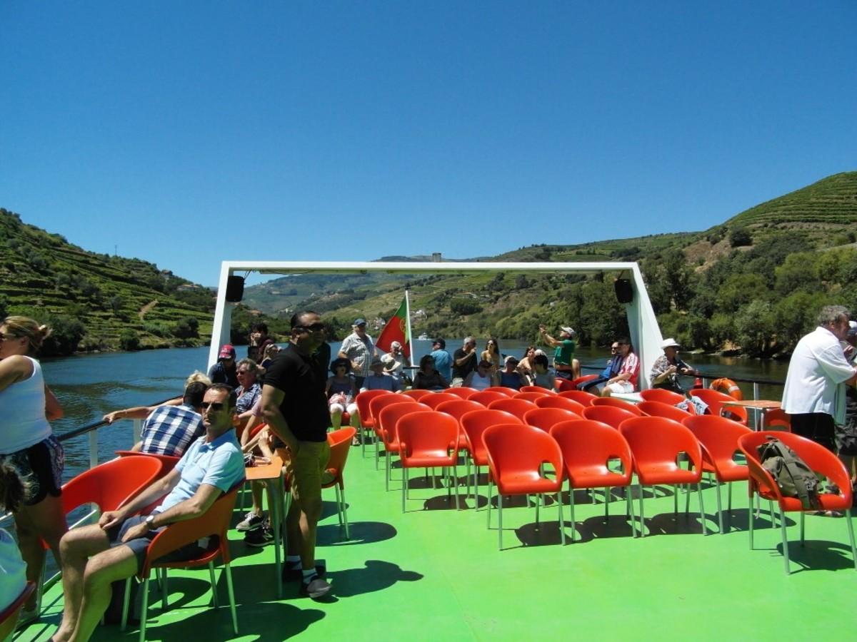 The sun deck.