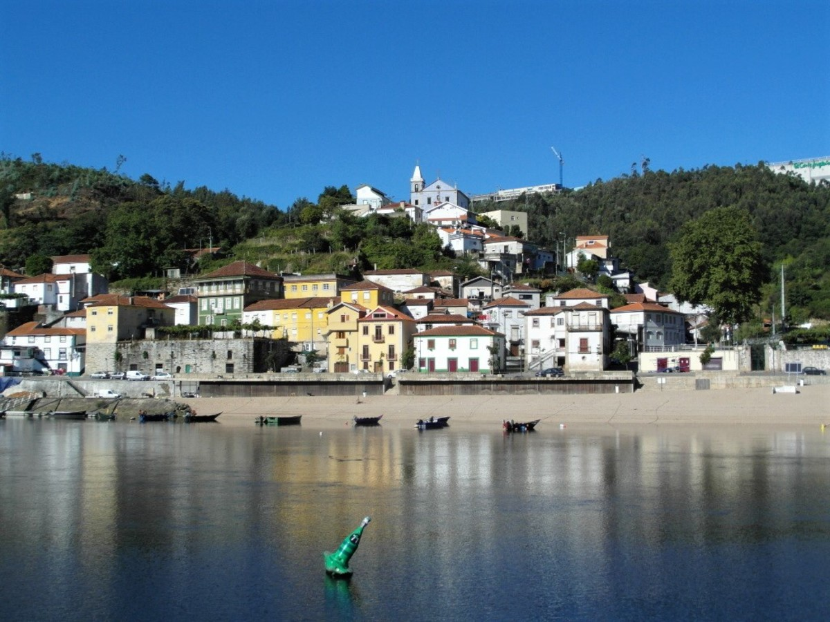Village on the River Douro.