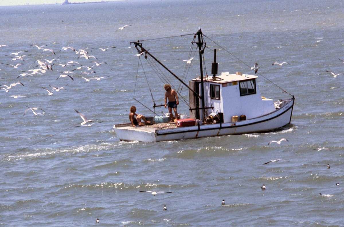 Shrimp Boat, Galveston, Texas