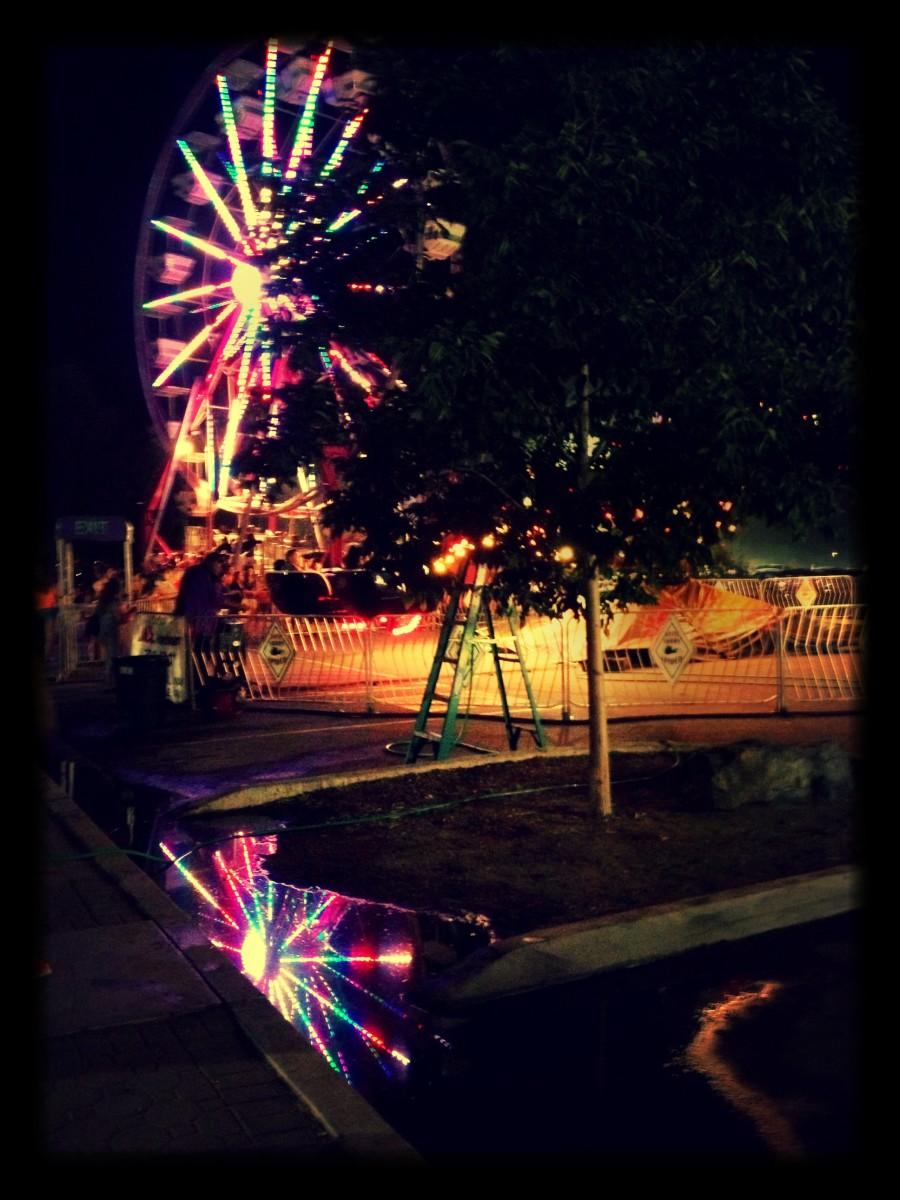 Ferris Wheel in Lampe Park