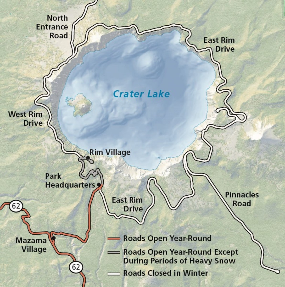 Current Condition Check for Crater Lake is a Must