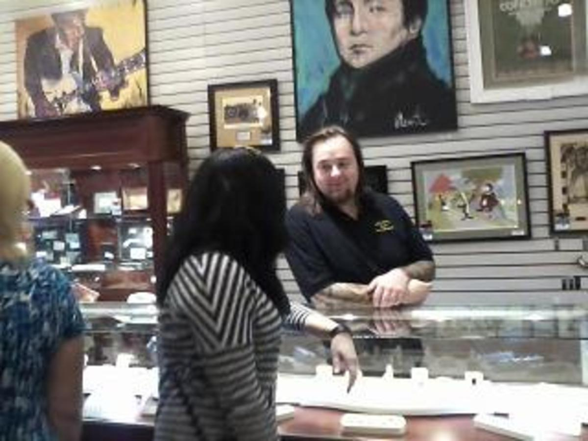 A Meet & Greet with Chumlee in the Gold & Silver Pawn Shop