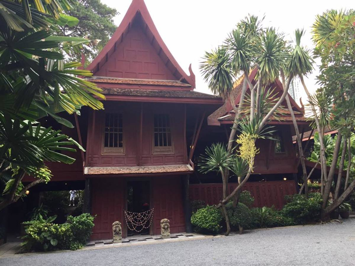 The Jim Thompson House and Museum in Bangkok, Thailand