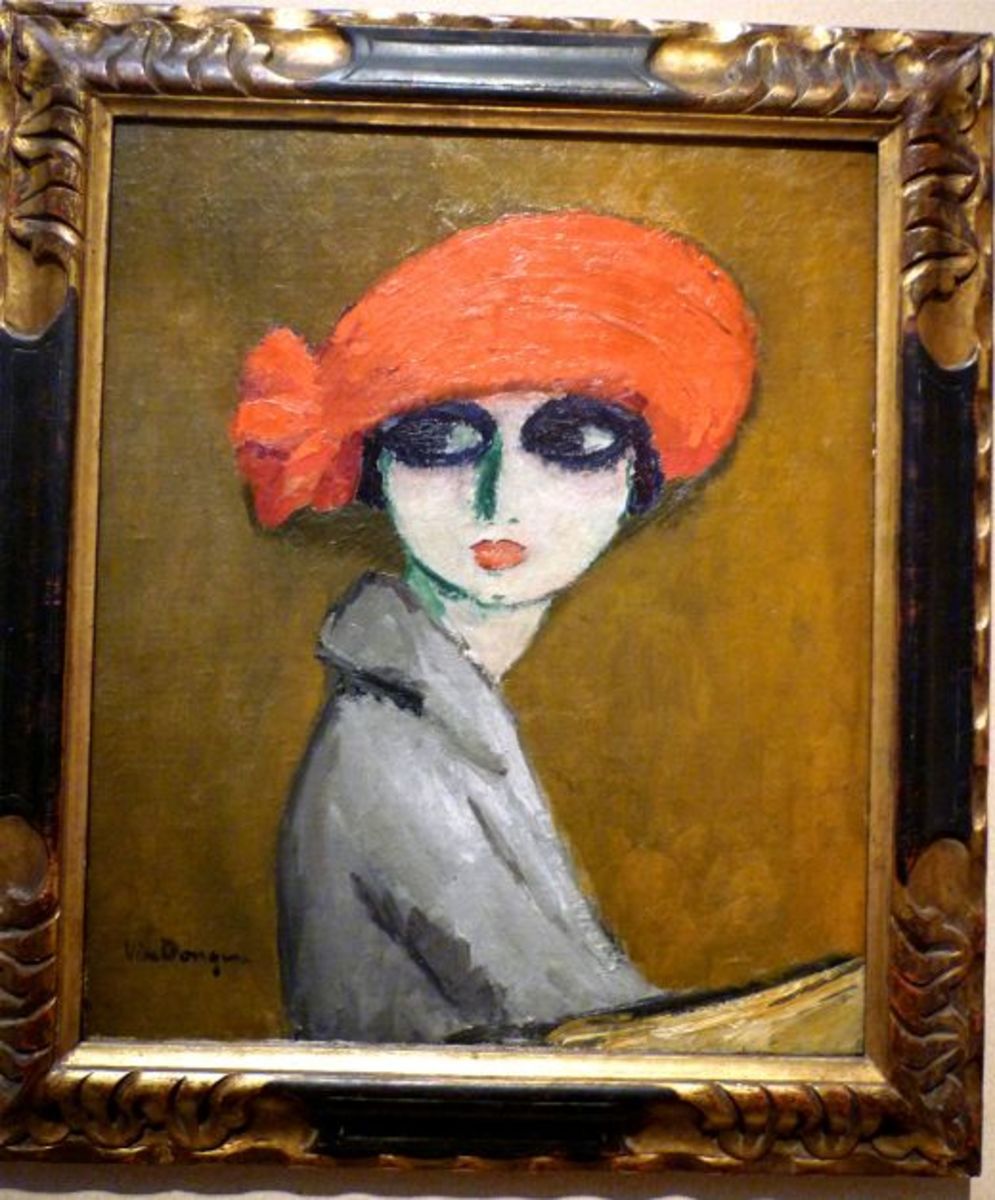 The Corn Poppy by Kees van Dongen