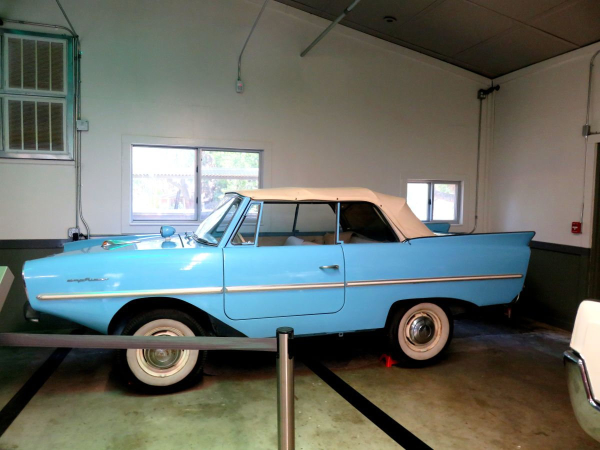 The Notorious Amphicar: Help, the Brakes Have Failed!