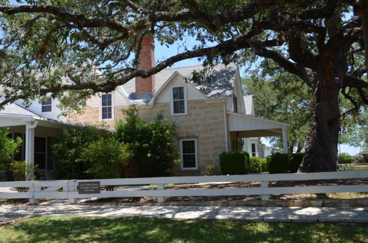 Texas White House Where Johnson Loved Doing Business