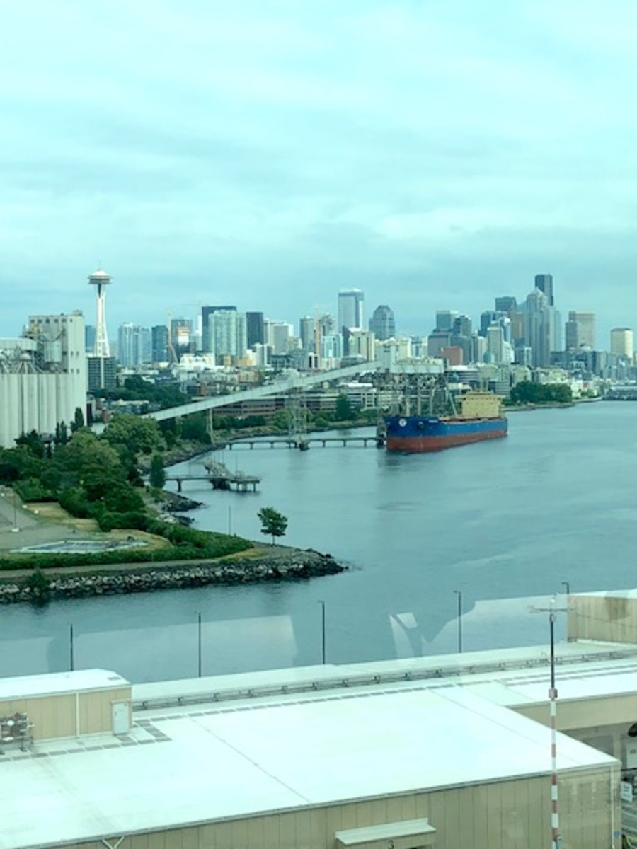 Seattle from the ship
