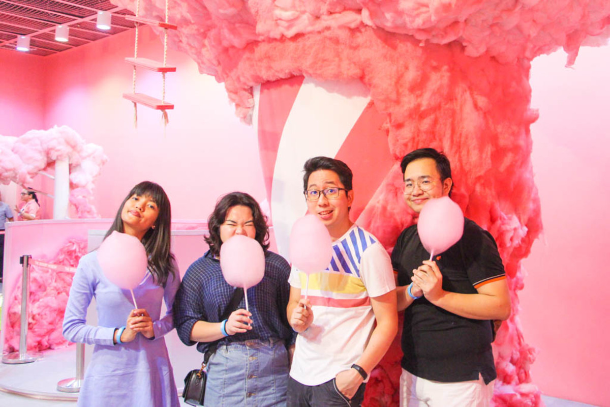 The cotton candy island is real!