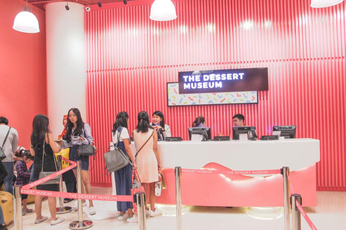 The Dessert Museum in Conrad Manila, Philippines
