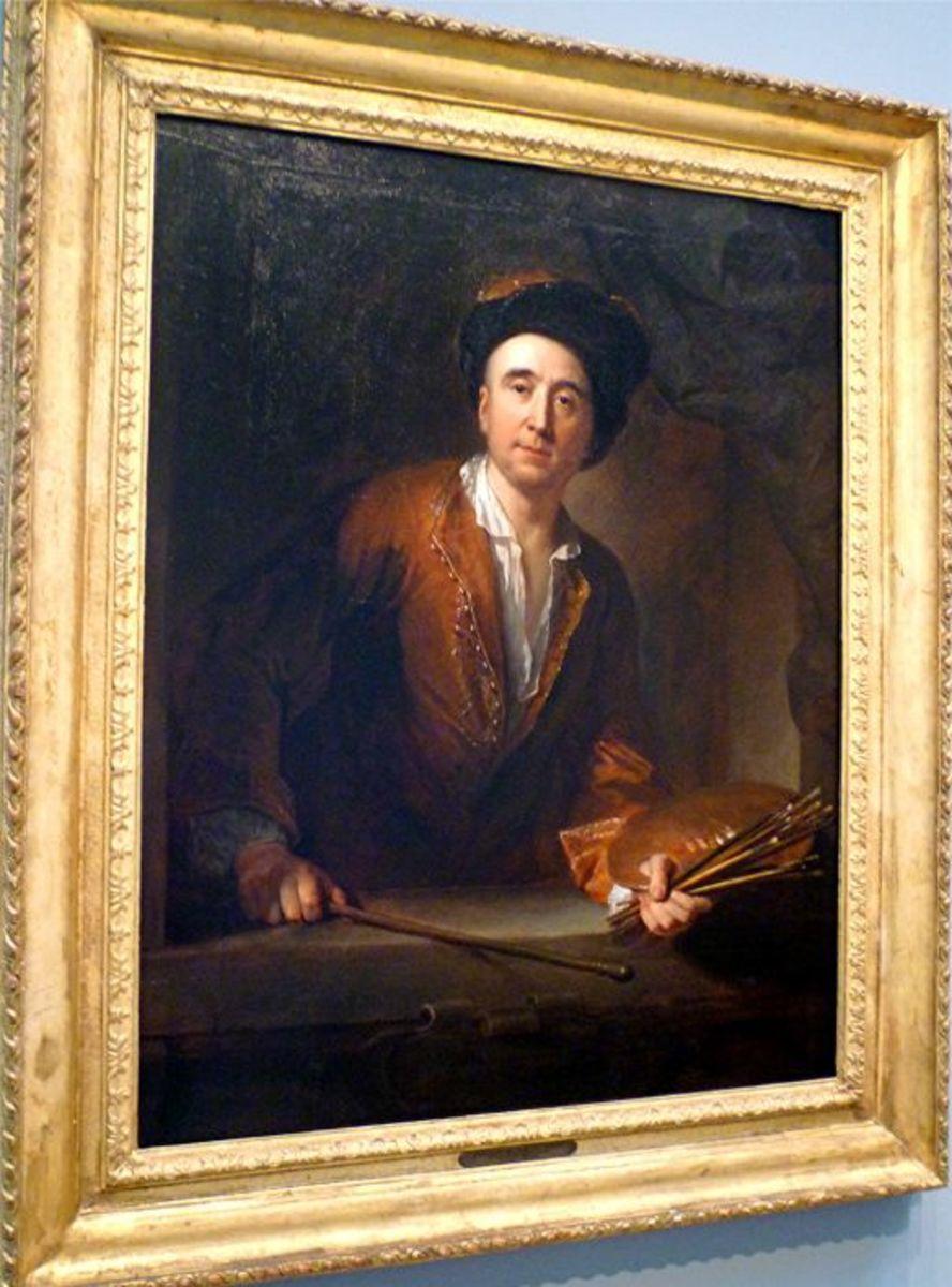 Self Portrait by Francois de Troy