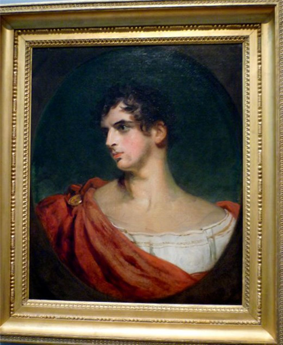 Portrait of John Joseph Henry by Thomas Lawrence