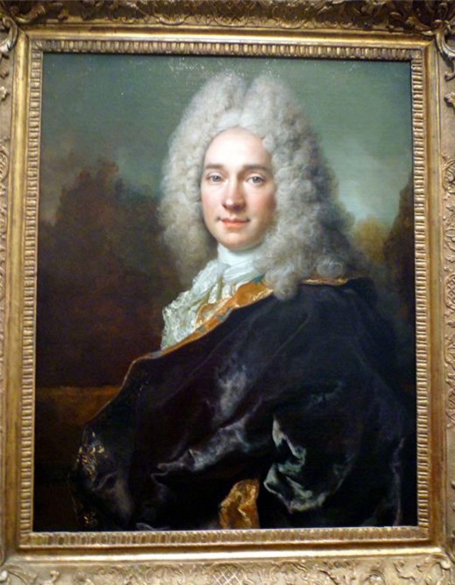 Portrait of Pierre Cadeau de Mongazon by Nicolas de Largilliere