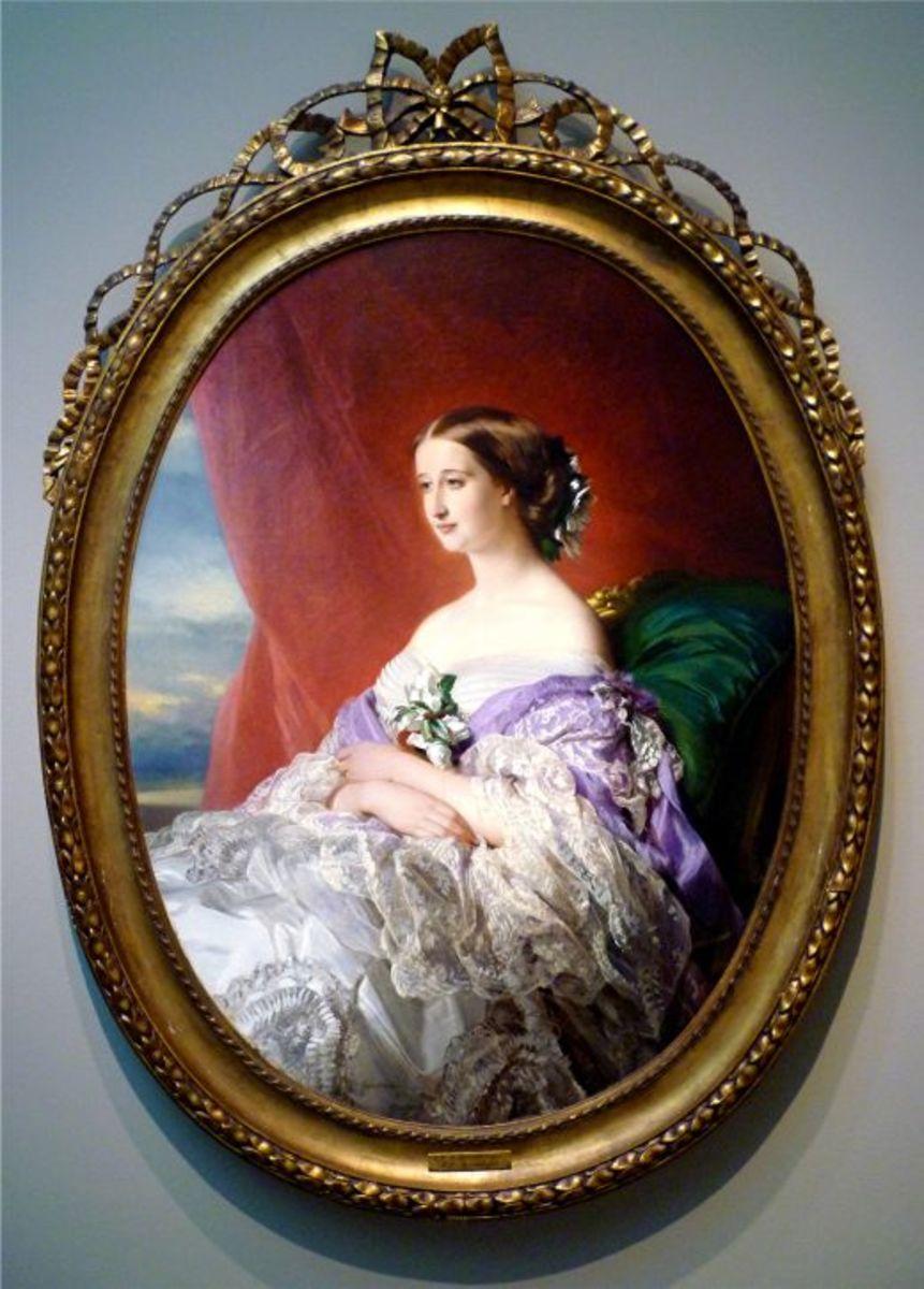 Empress Eugenie by Franz Xaver Winterhalter