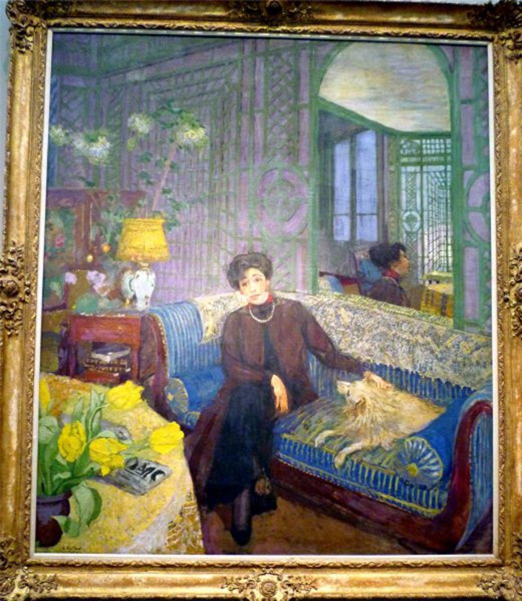 Marcelle Aron (Madame Tristan Bernard) by Edouard Vuillard