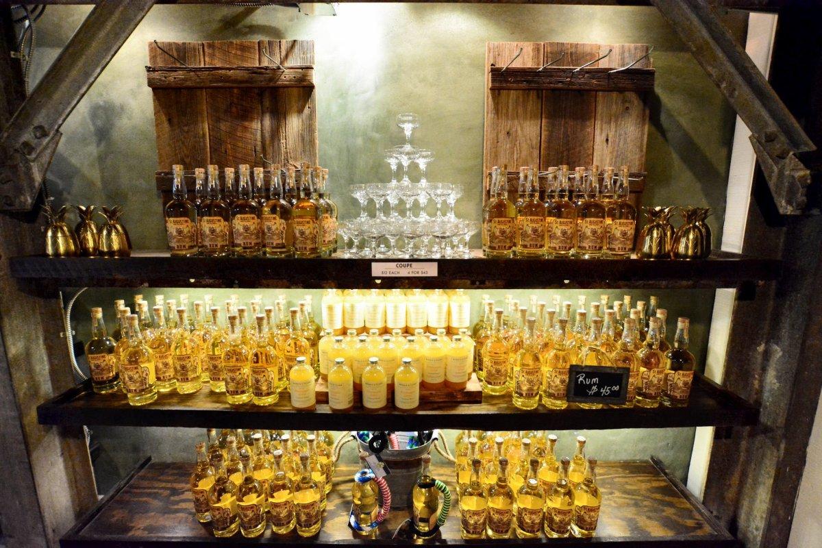 St. Augustine Distillery.