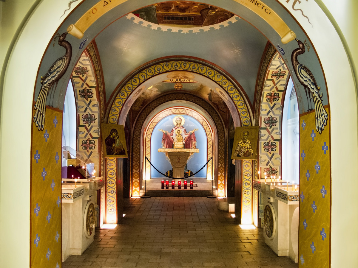 St. Photios Greek Orthodox Shrine.