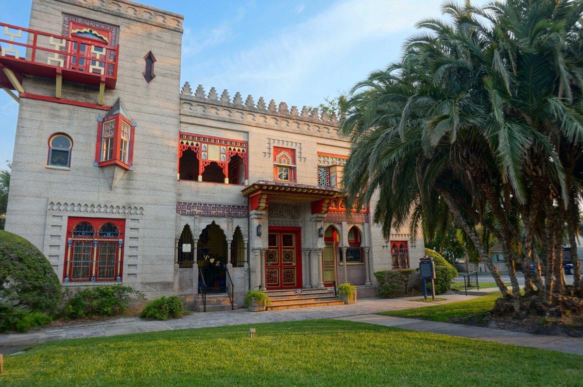 Villa Zorayda Museum, St. Augustine, Florida.