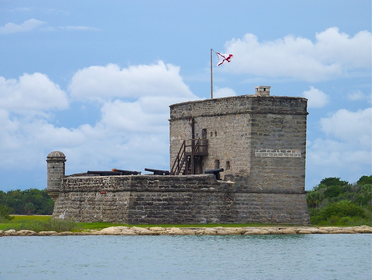 View of Fort Matanzas from the fort's ferry.
