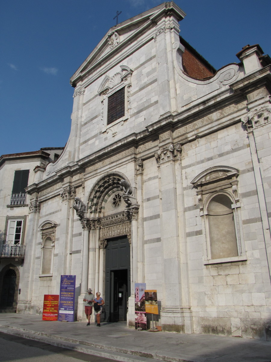 Church of San Giovanni, site of the nightly Puccini concert