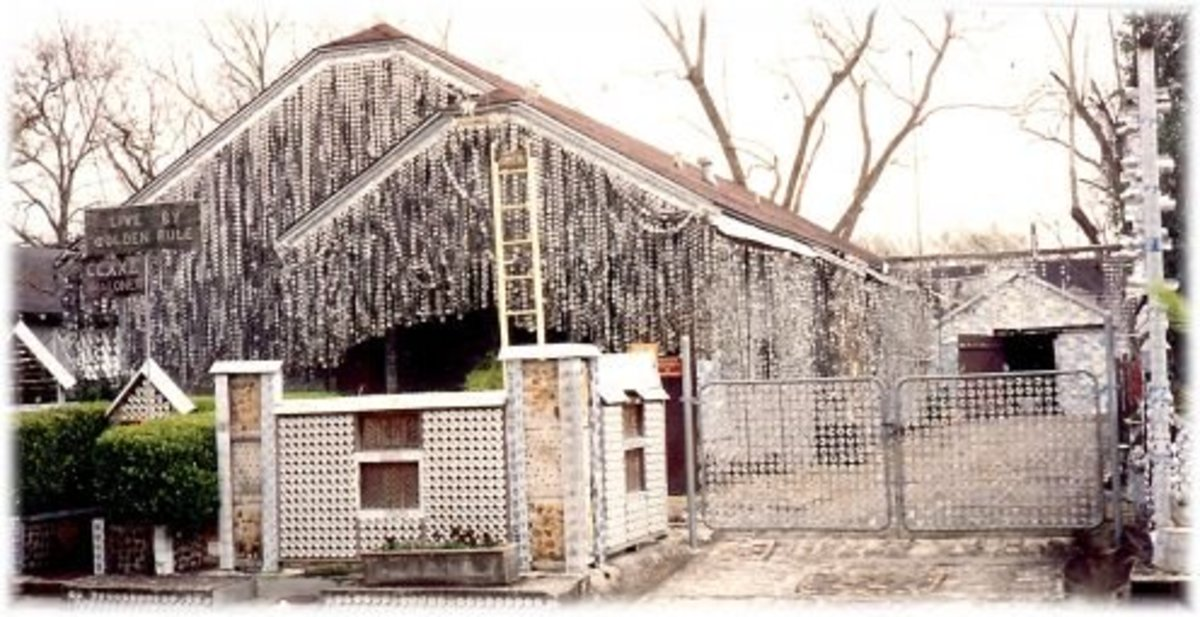 Beer Can House in Houston, Texas