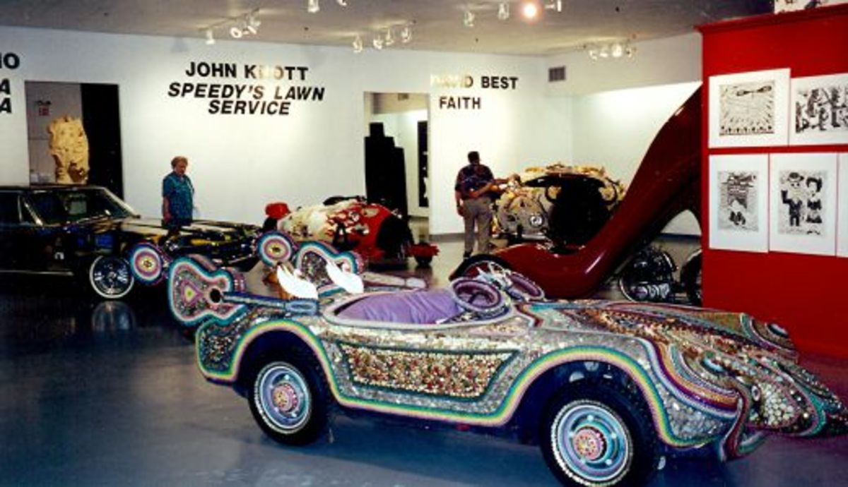 Inside the Art Car Museum
