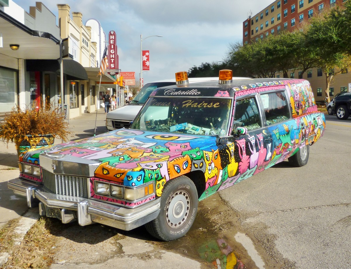 Art Car in the Houston Heights