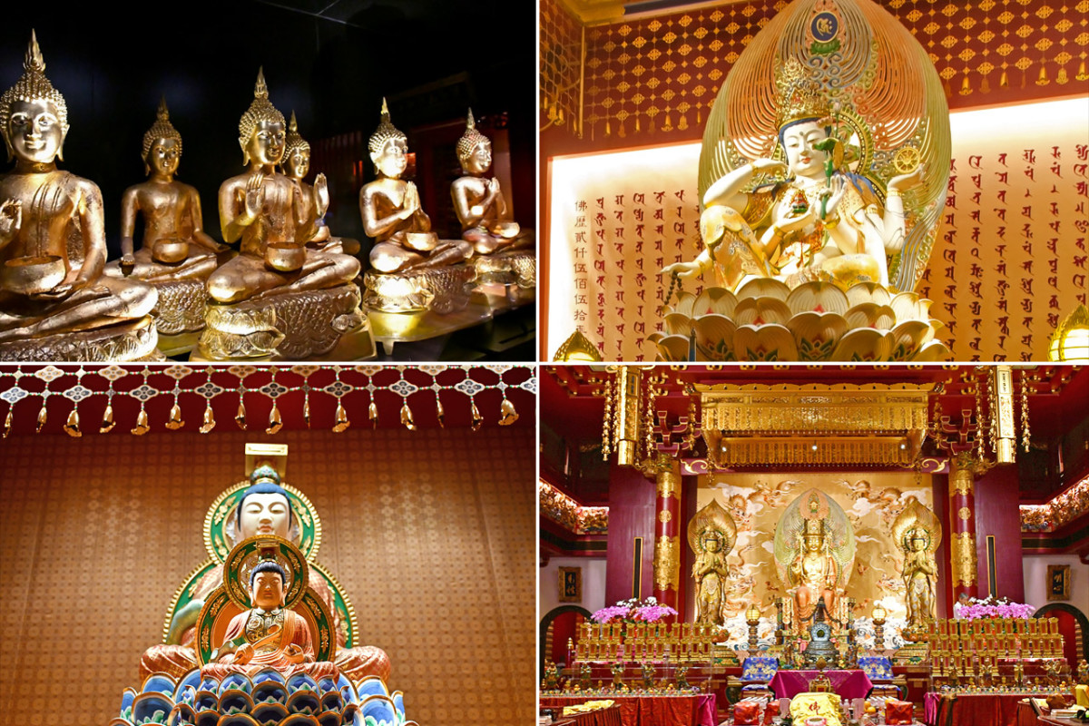 Upper levels house a stunning repository of Buddhist art from various cultures. The most comprehensive in Singapore.