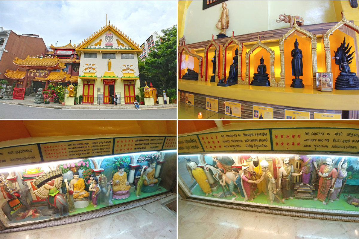 Visitors familiar with Theravada Buddhism would immediately recognize Thai influences in the architectural style of Sakya Muni Buddha Gaya Temple.