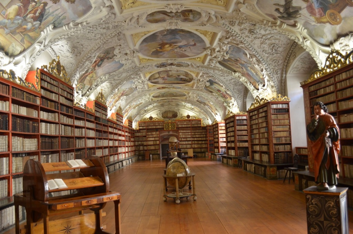 The Strahov Monastery Library (c) A. Harrison