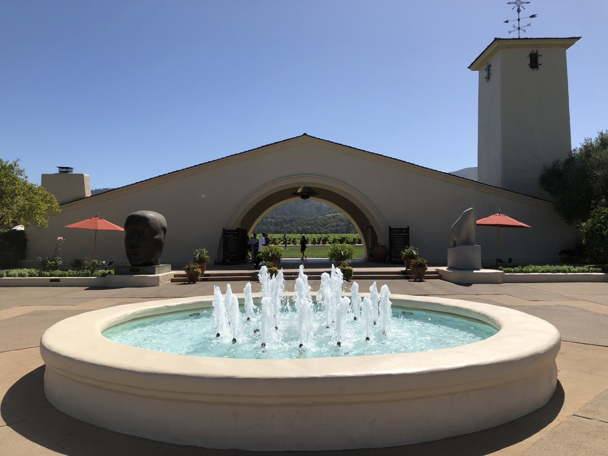 Robert Mondavi's mission-style winery