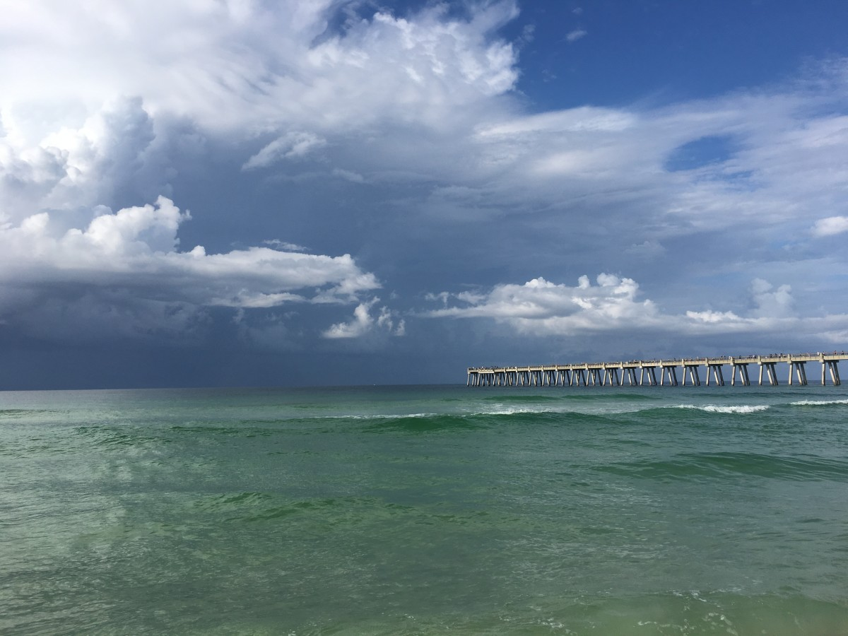 Take a stroll on the Navarre Beach Pier.