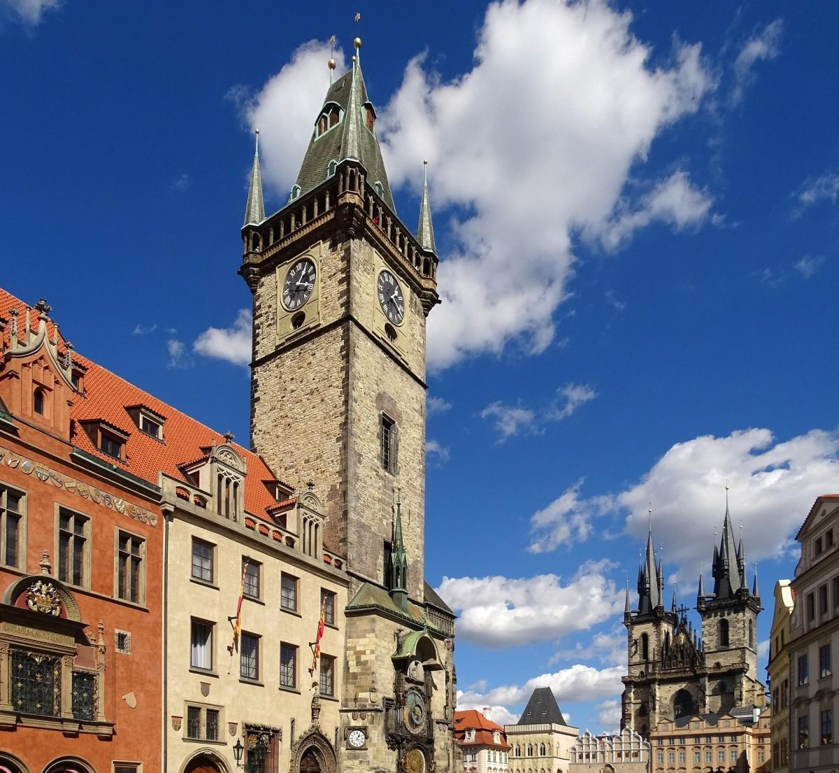 Prague Old Town Hall.