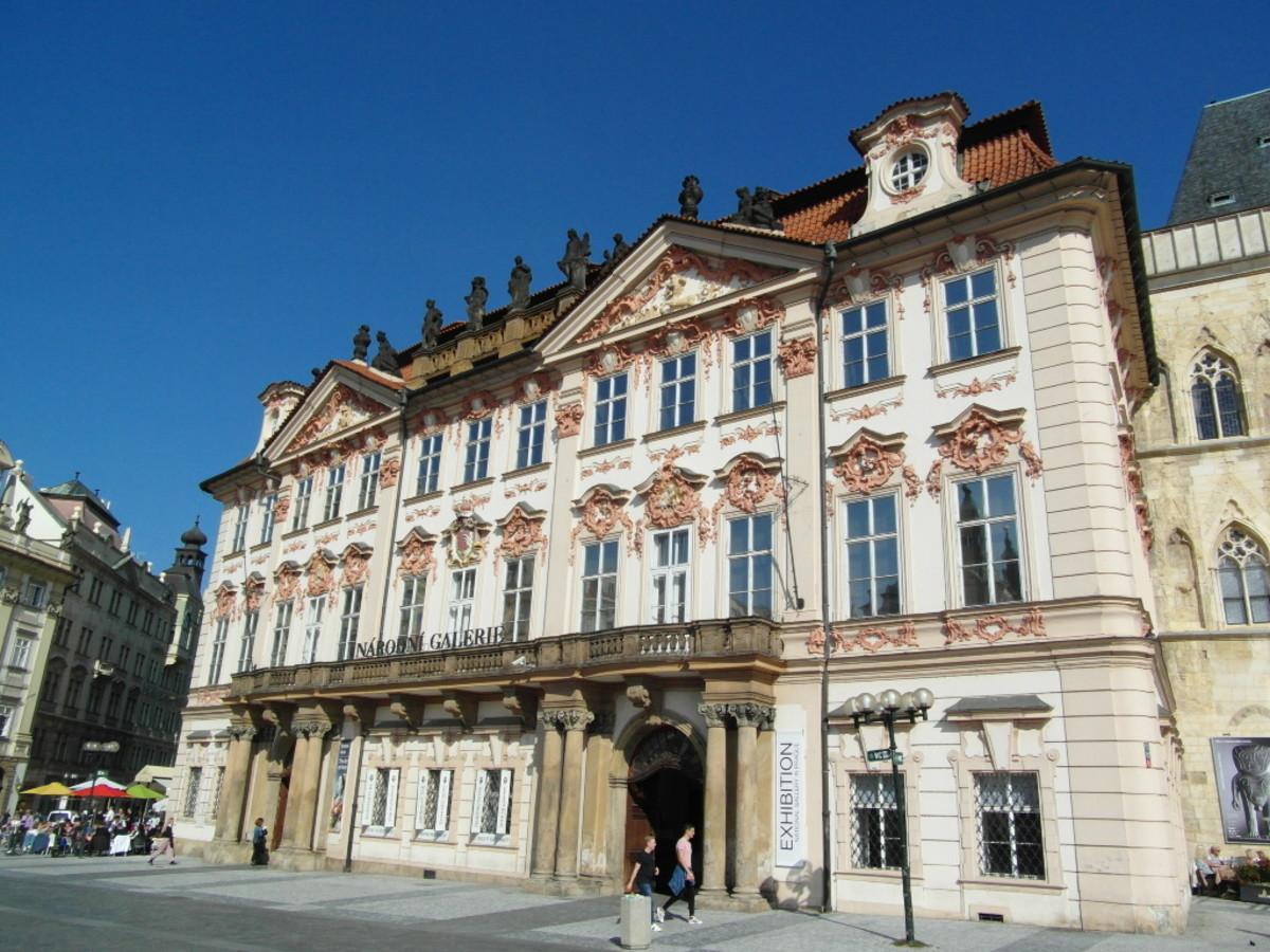The Kinsky Palace.