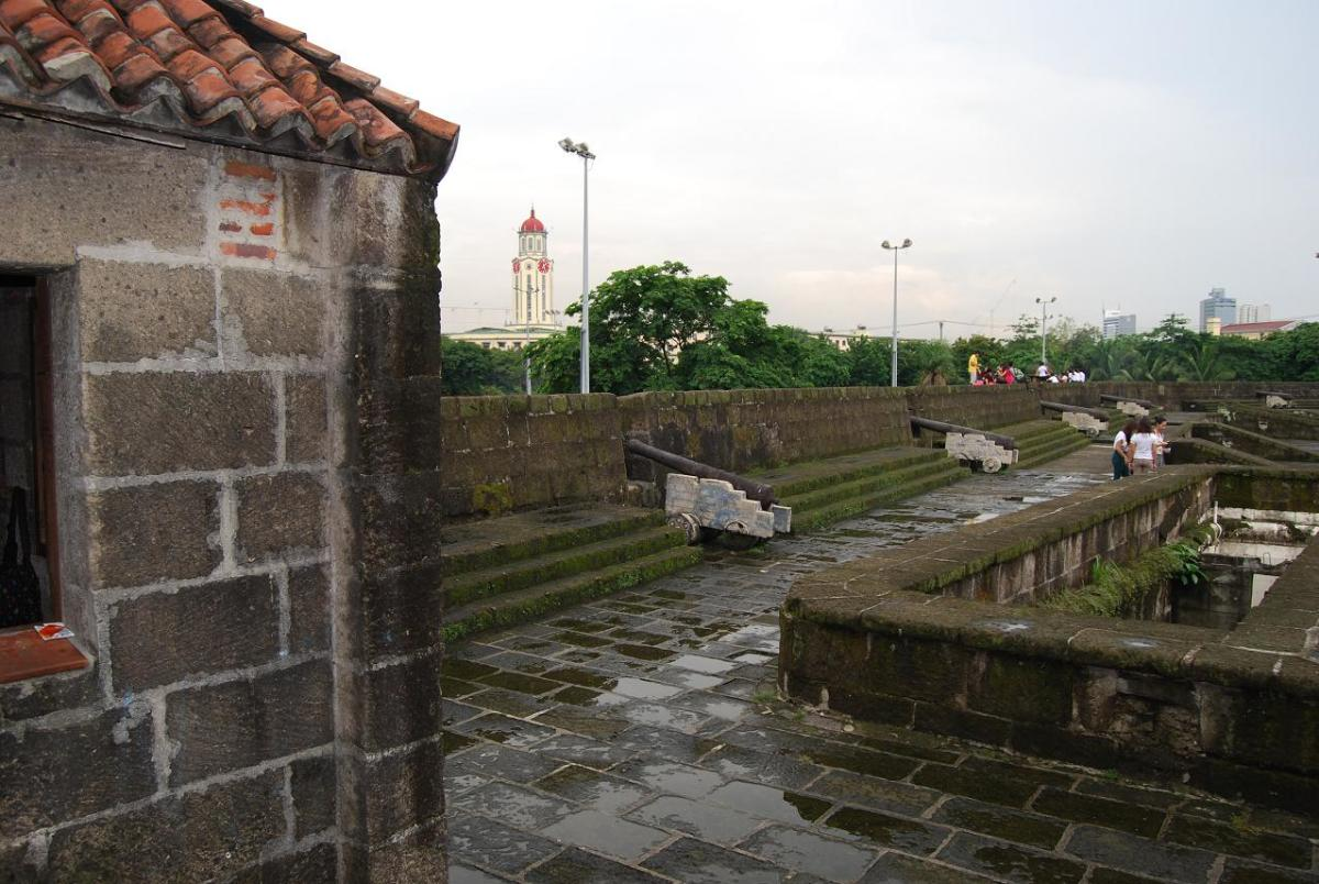 Battlements and Cannons of Fort Santiago